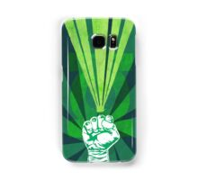 Green Lantern's light Samsung Galaxy Case/Skin