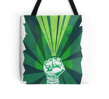 Green Lantern's light Tote Bag