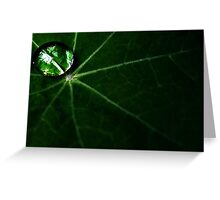 Traveling Droplet Greeting Card
