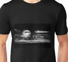 airplane front close-up Unisex T-Shirt