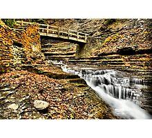 Stoney Brook (HDR) Photographic Print