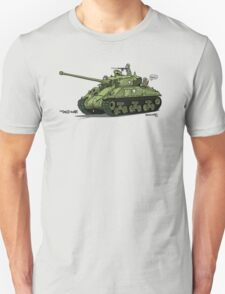 Dogs of War: Sherman Tank T-Shirt