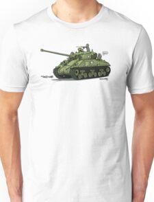 Dogs of War: Sherman Tank Unisex T-Shirt