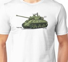 The Dogs of War: Sherman Tank Unisex T-Shirt