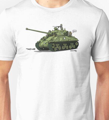 The Dogs of War: Sherman Tank Unisex T-Shirt