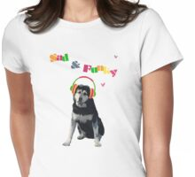Sad & Funky Womens Fitted T-Shirt