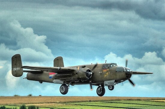 B-25 Mitchell Bomber by SimplyScene