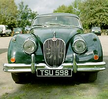 Jaguar XK150 by Edward Denyer