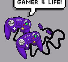 Gamer 4 Life! by Jazmine Phillips