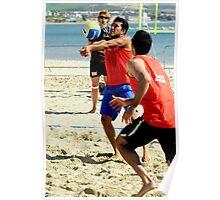 Beach Volleyball Tour Weymouth 2009 Poster