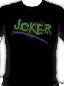 Joker graffiti  T-Shirt