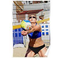 volleyball Beach tour Weymouth 2009 Poster