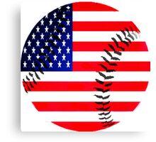baseball usa Canvas Print