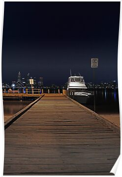 Coode St Jetty - Perth Western Australia  by EOS20