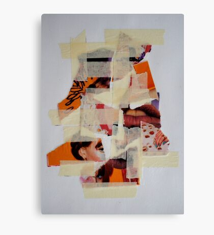 cut and paste Canvas Print