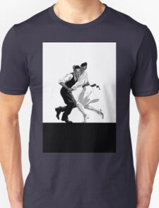 Clay and Lisette Dancing Unisex T-Shirt