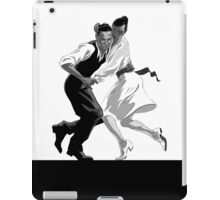 Clay and Lisette Dancing iPad Case/Skin
