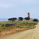 Piedras Blancas Lighthouse, CA by Christine Till  @    CT-Graphics
