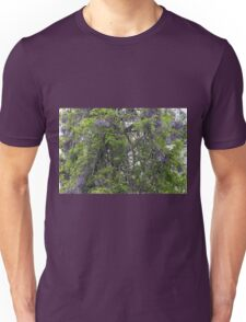 Wisteria Takes Over The Woods Unisex T-Shirt