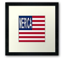 MERICA It's the New America Framed Print