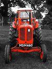 Orange Tractor by Yampimon