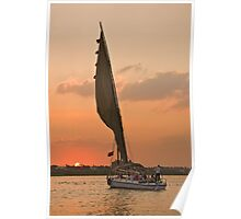 Cruising the Nile of Egypt Poster