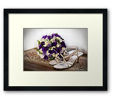 Taking the Plunge Framed Print
