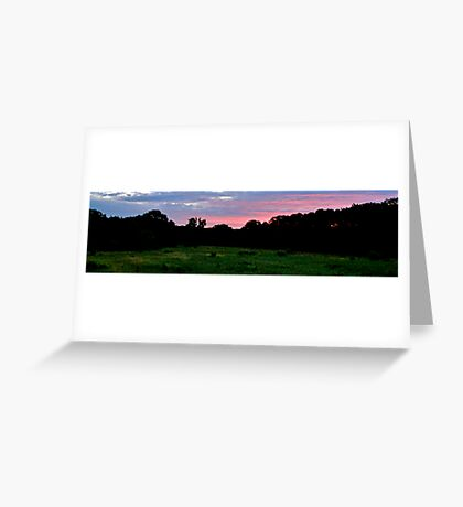 Silent Serenity Greeting Card
