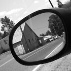 Car Mirror by Ashely  Hendrickson