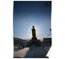 Giant Buddha, Ulaanbaatar Poster