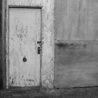 Black And White Door by Ashely  Hendrickson