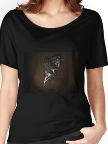 Flame 3D Abstraction Women's Relaxed Fit T-Shirt