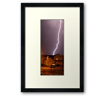 Electrical Energy Framed Print