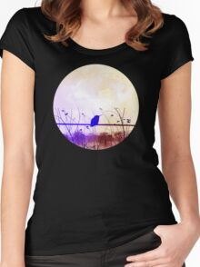 Bird Vintage Women's Fitted Scoop T-Shirt