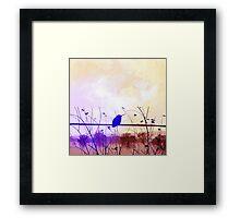 Bird Vintage Framed Print