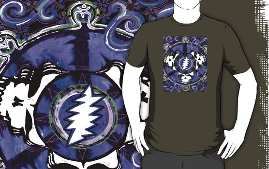 If the Thunder Don't Get ya Then The Lightin' Will - Design 1 by Kevin J Cooper