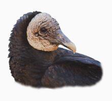 Black Vulture Portrait Kids Tee