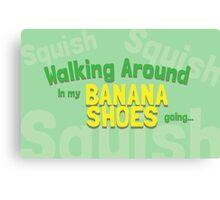 Game Grumps Banana Shoes Canvas Print