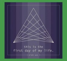 This is the First Day of My Life - Bright Eyes Kids Tee