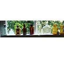 Antique Bottles Photographic Print