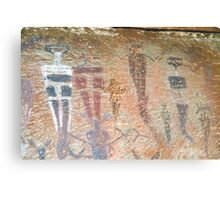 Barrier Canyon Pictographs Metal Print