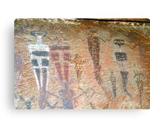 Barrier Canyon Pictographs Canvas Print