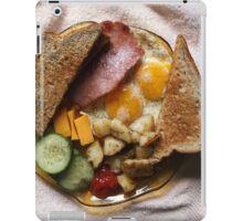 Sunday Morning Ham and Eggs 2 iPad Case/Skin