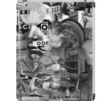 Futurist Family Having a Conversation about Religion. iPad Case/Skin