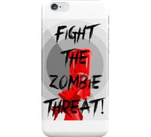 Human VS Zombies - Anti-Zombie Propaganda iPhone Case/Skin