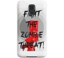 Human VS Zombies - Anti-Zombie Propaganda Samsung Galaxy Case/Skin