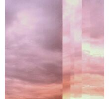 Pastel Skies Photographic Print