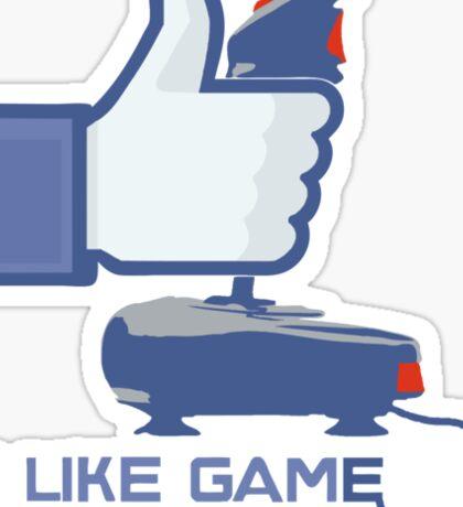 I Like Game - Facebook Sticker