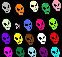 """""""Thursday Skulls"""" by Richard F. Yates by richardfyates"""