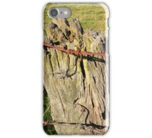 Along a Rural Road ... iPhone Case/Skin